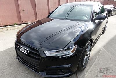 2017 Audi S6 V8T - Black
