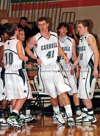 2008-01-15 Boys Varsity Basketball - Grapevine v Carroll