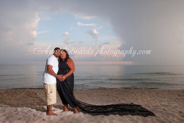 Damien + Latisha = Teagan  |  Panama City Beach