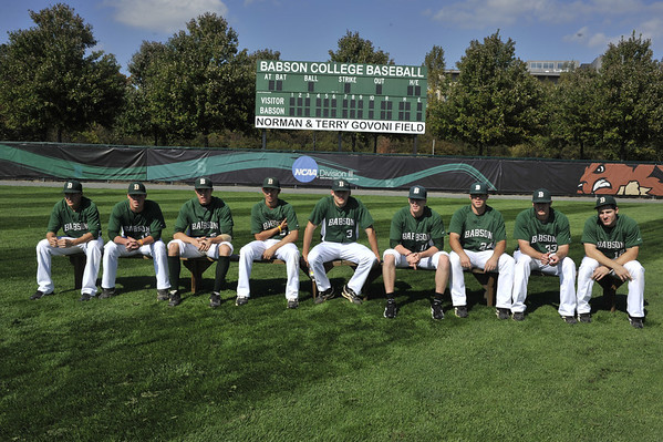BABSON BASEBALL TOTAL TEAM PORTRIATS  10.5.2012