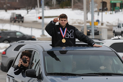 State Champ Jeffrey Boyd Returns Home
