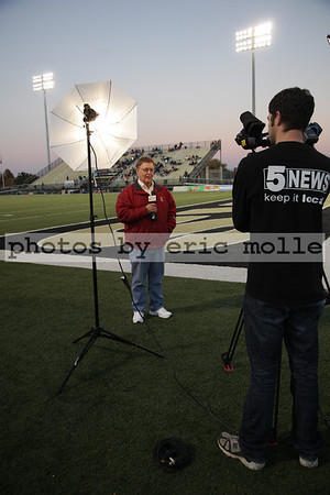 Har-Ber Wildcats at Bentonville Tigers Football - Senior Night - 11/04/2011