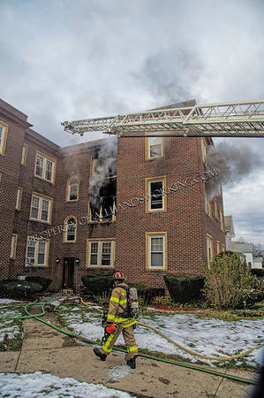 West Haven 2nd alarm 10 4th St. apartment fire