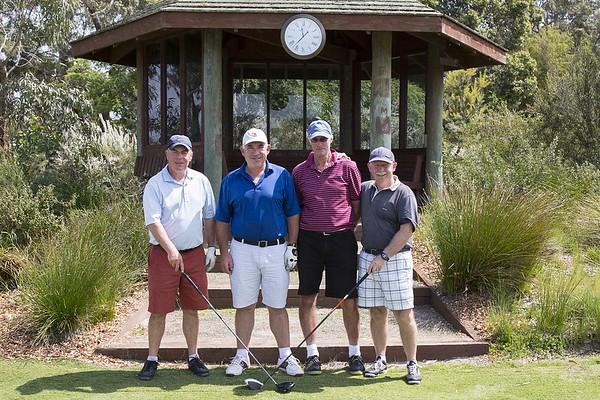 20151025 Peter Garty, George Hunt, Brian Kennedy & John Mathews - RWGC Melbourne Sandbelt Classic _MG_3454 a NET