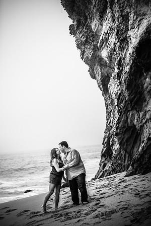 Kim and Adam (Engagement Photography) @ Panther Beach, Santa Cruz, California