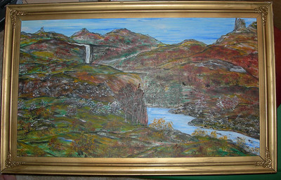 Paintings by Harry Lee Whitlock (my grandfather and namesake) 1906 - 1980