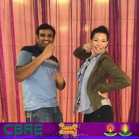 CBRE Diwali Photo Booth Images