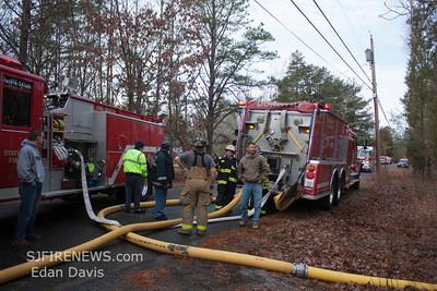 12/12/2012, 2nd Alarm Dwelling, Mizpah, Atlantic County, 5920 Estell Ave.