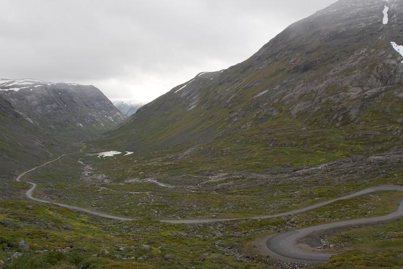 Road to Styggevatnet.