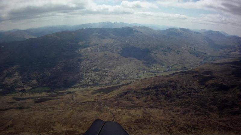 West into Glen Lochay