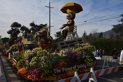 Tournament of Roses Post Parade Float Exhibition