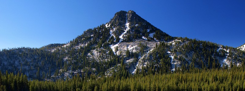 Gunsight Mountain Elkhorn Range Eastern Oregon