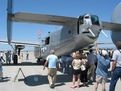 Liberator at Moffet Field