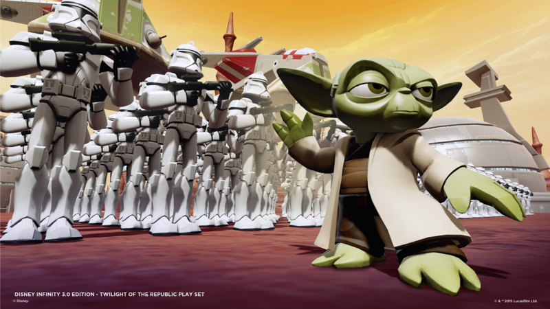 STAR WARS Twilight of the Republic Play Set trailer is here for Disney Infinity 3.0