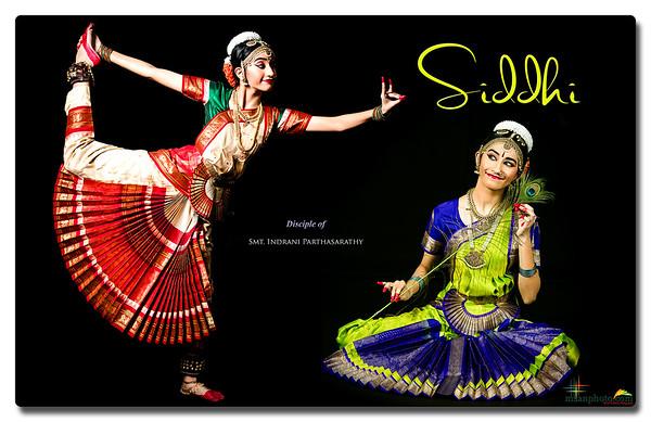 Siddhi's Pre-Arangetram Portraits 2021
