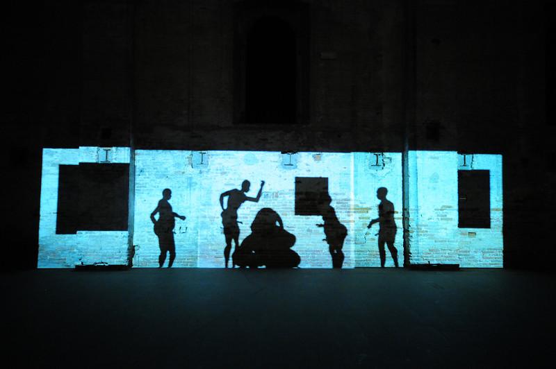 Paul Chan:  Sade for Sade's Sake. 2008-2009 Installation