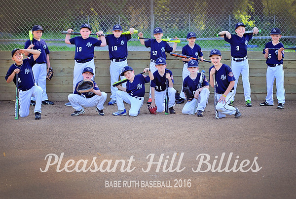 Pleasant Hill Billies - Team A