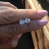 3.05tcw Antique Cushion Cut Diamond Pair, GIA J, VS2/SI1 9