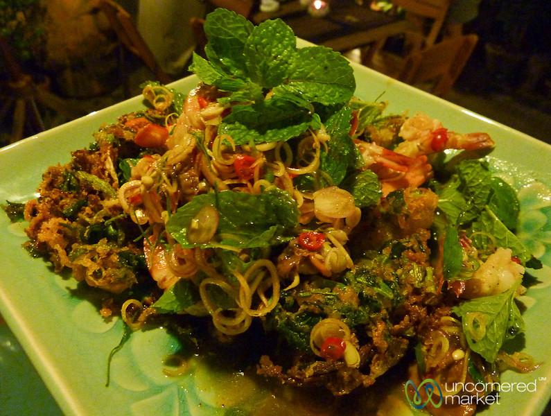 Shrimp Lemongrass Salad - Koh Samui