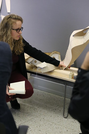 Iryna Goroshko [Directed Research] : Knitted Plywood Flexible Hybrid Structures