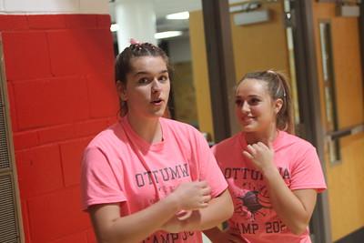 Ottumwa volleyball's 2020 Pink Out Night