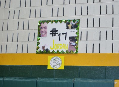 Coed Volleyball vs. Rockville HS and volleyball and track senior night 4/30/2019