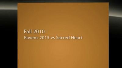 11 Sept 10 vs Sacred Heart