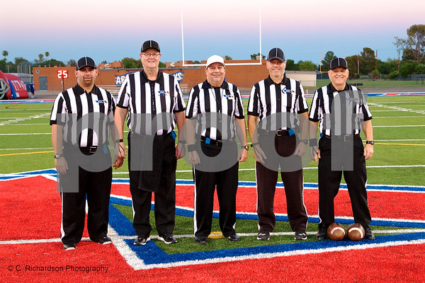 Officials Arcadia vs St. Marry's 09-07-18