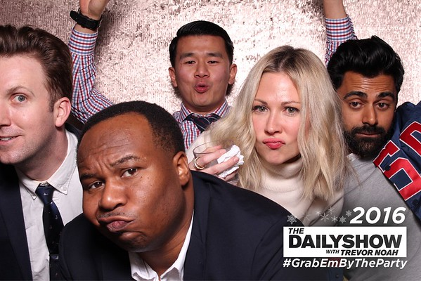 Daily Show Holiday Party 2016