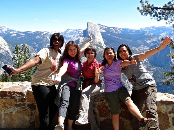 Climbing Half Dome,June 25-28,2013