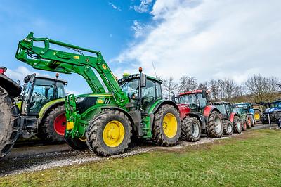 Knaresborough Young Farmers Club Annual Tractor Run