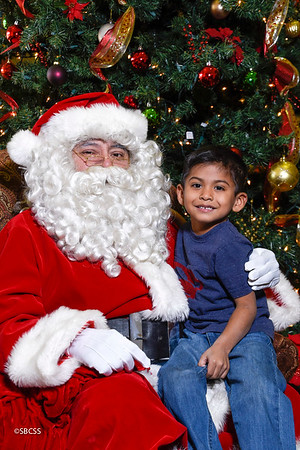 2017 Open House Pics with Santa