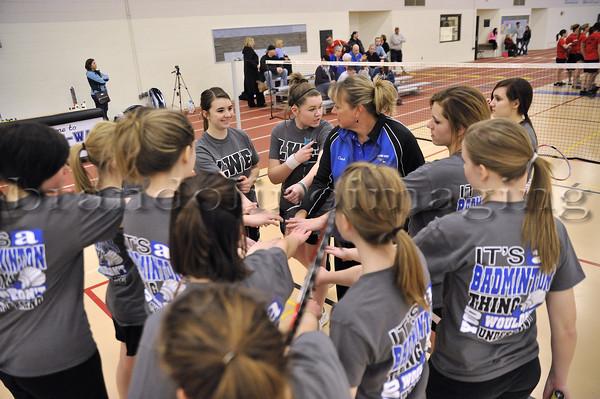 Lincoln-Way Varsity-Sophomore Badminton 2013
