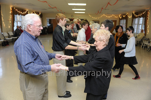 EHS FCA and Aviation Club Valentine's Dance for Senior Citizens 2-16-2013