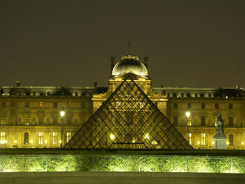 The City of Lights: Louvre