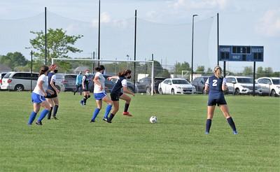 OE Girls Jv Soccer Vs Joliet Central 2021