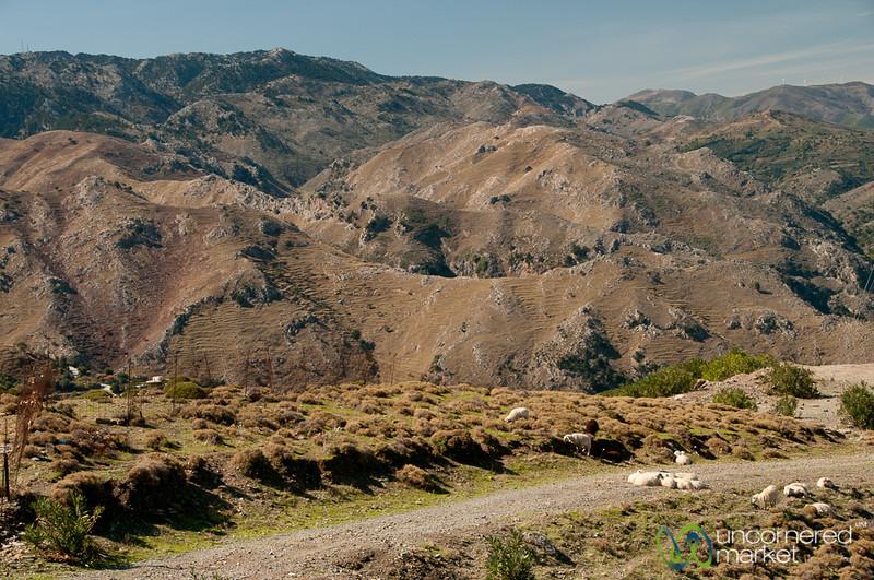 Cretan Mountain Landscapes - Laki, Crete