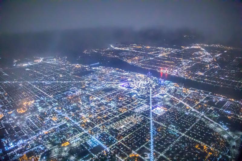 Snowy Detroit