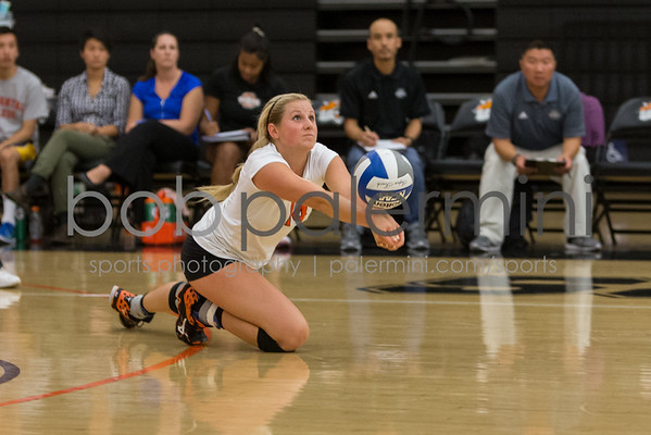 Oxy Volleyball vs Cal Lu 9-29-15