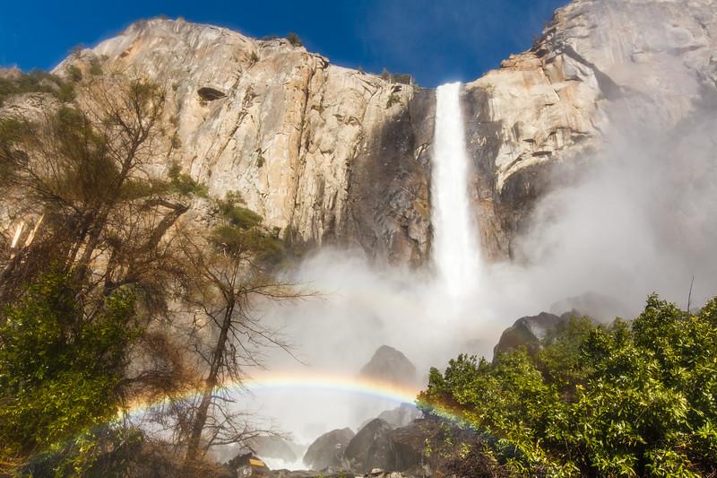 """Bridalvail Falls"", Yosemite National Park"