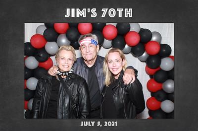 7/5/21 - Jim's 70th Birthday