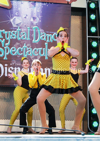 Crystal Dance Spectacular 2015 at Disneyland