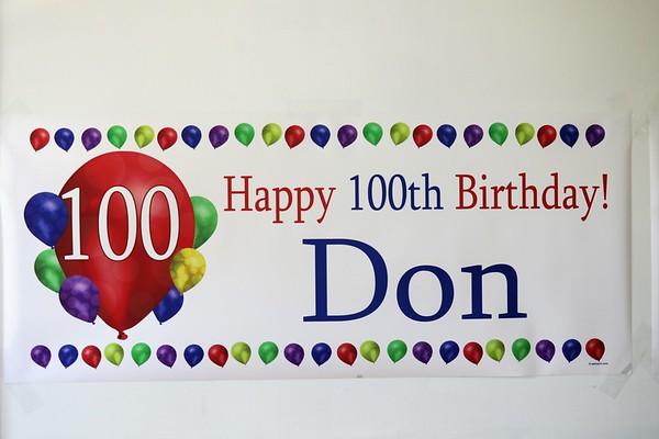 "2019 DON LOCKE'S  ""100TH BIRTHDAY PARTY..."""