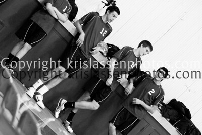 2012 La Serna Boys Volleyball vs Temple City 3/15
