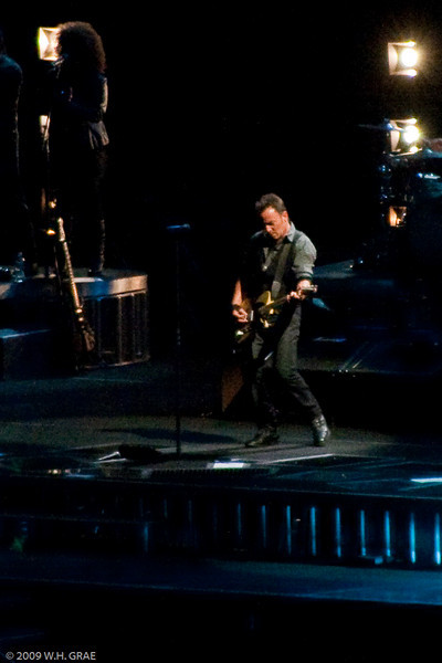 Bruce Springsteen with the E Street Band at Giants Stadium on 10-2-2009