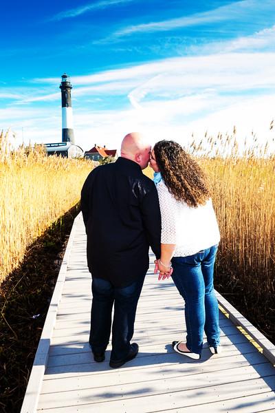 Ashley & Zach - Fire Island Lighthouse - November 20, 2015