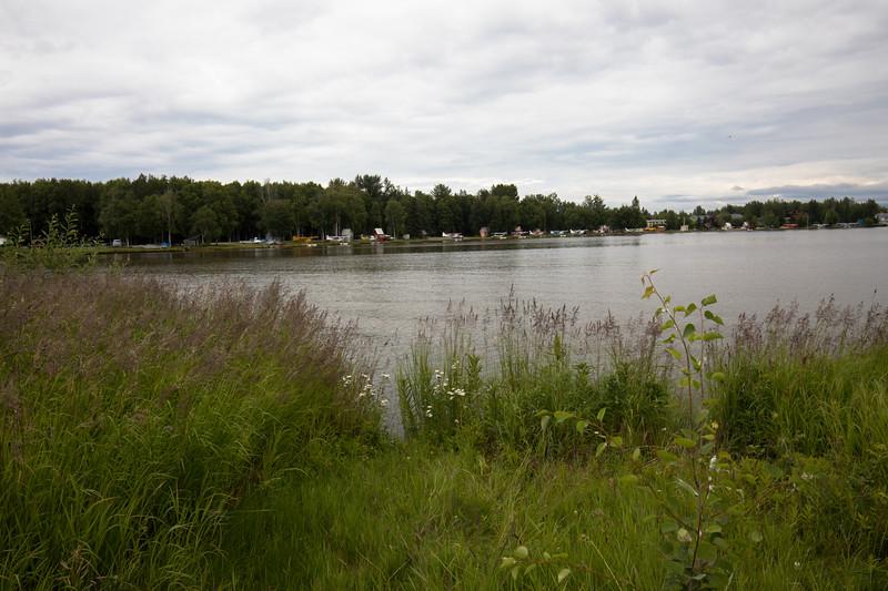 planes along the lake