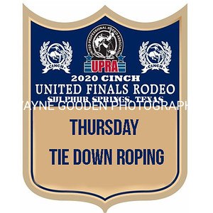 UPRA Finals Thursday Tie Down Roping