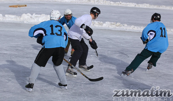 2012 Evergreen Pond Hockey Tournament