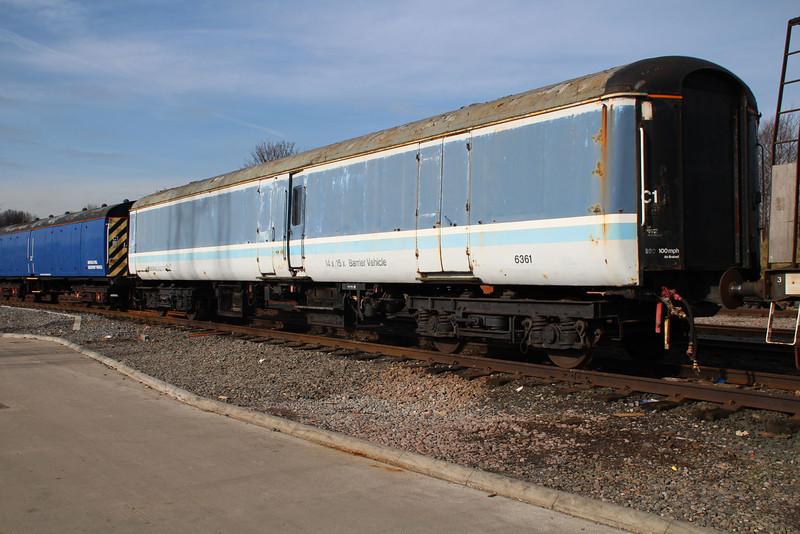 Barrier Coach 6361 at Neville Hill.